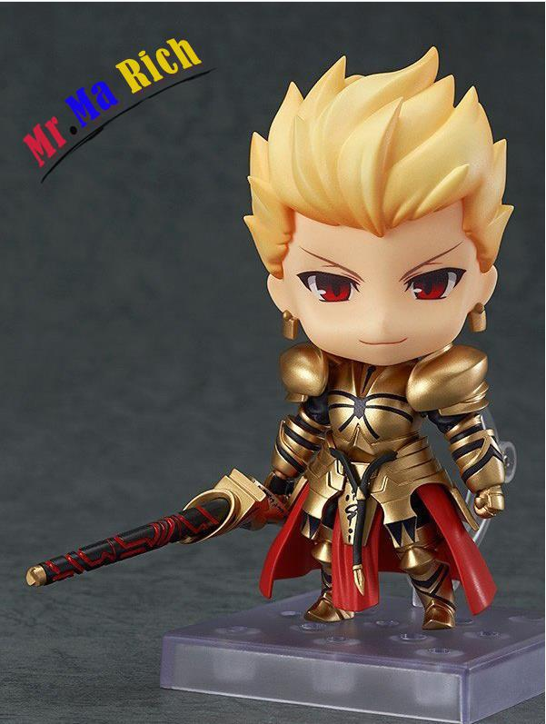10 Cm Nendoroid Fate Stay Night Gılgamış Q Sürüm 410 Pvc Action Figure Koleksiyon Modeli